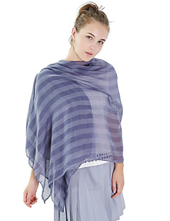 Women's Linen Fashion Cute Floral  Print Fall Winter Scarf  180*80cm