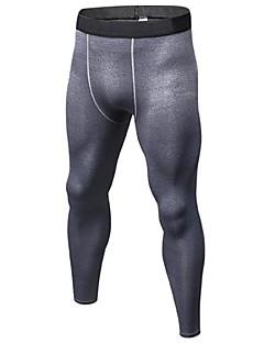 billiga Träning-, jogging- och yogakläder-Herr Tights för jogging / Gymleggings - Röd, Blå, Frukt grön sporter Cykling Tights Sportkläder Lättvikt, Fitness, Löpning & Yoga, Snabb