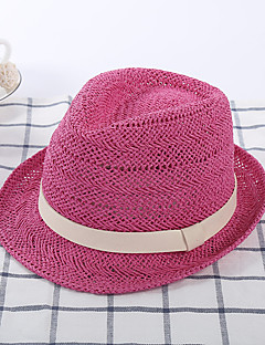 cheap Fashion Handbags & Accessories-Women's Hat Casual Straw Hat Sun Hat - Solid, Bow Pure Color