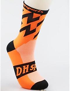 Fietsen/Wielrennen Sokken/Fietssokken Anatomisch ontwerp Ademend Lichtgewicht Spandex Nylon Hardlopen Wielrennen Lente Zomer