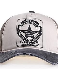 billige Hatter til damer-Unisex Hatt / Moderne / Enkel Baseballcaps - dratt / Denim, Trykt mønster Polyester