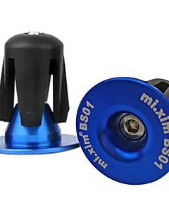 billige Håndtak & Stammer-Bike Håndtak Cap Veisykling / Sykling / Sykkel / Fjellsykkel Sykling Plastikker / 6061 Aluminiumslegering Rød / Blå / Gylden