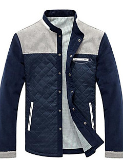 Men's Casual/Daily Casual Spring Fall Jacket