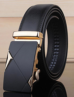 cheap Fashion Handbags & Accessories-Men's Formal Alloy Waist Belt - Solid Color