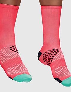 billige Sykkelklær-Sport Sokker / Athletic Socks Sykkel / Sykling Sokker Unisex Sykling / Sykkel / Løp Lettvekt / Anatomisk design / Pusteevne 1 par Vår /