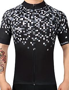 Wielrenshirt Heren Korte mouw Fietsen Shirt Sneldrogend Ademend 100% Polyester Zomer Bergracen Wegwielrennen Recreatiewielrennen