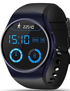 billige Læder-Herre Dame Digital Digital Watch Armbåndsur Smartur Militærur Sportsur Kinesisk Touch-skærm Alarm Kalender Pulsmåler Vandafvisende