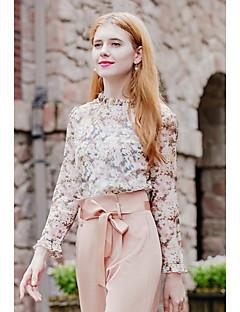 economico Top da donna-Blusa Per donna Con stampe Colletto alla coreana