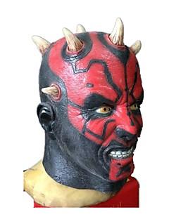 billige Halloweenkostymer-Halloween Utstyr Maskerade Engel & Demon Monstere Cosplay Festival/høytid Halloween-kostymer Svart Vintage Masker Halloween Karneval
