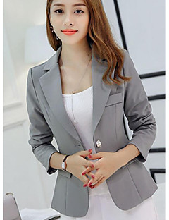 Women's Going out Casual Spring Fall Blazer