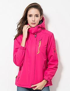 cheap Softshell, Fleece & Hiking Jackets-LEIBINDI Women's Hiking Down Jacket Outdoor Winter Windproof Stretchy Winter Fleece Jacket Down Jacket Rain Proof Single Slider Waterproof