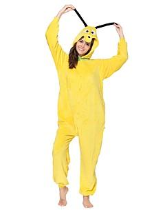 Kigurumi Pyjamas Hund Kostume Gul Kigurumi Trikot / Heldraktskostymer Cosplay Festival / høytid Pysjamas med dyremotiv Halloween Dyr Til