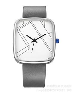 Pánské Dámské Sportovní hodinky Náramkové hodinky Unikátní Creative hodinky Hodinky na běžné nošení čínština Křemenný Voděodolné Kůže