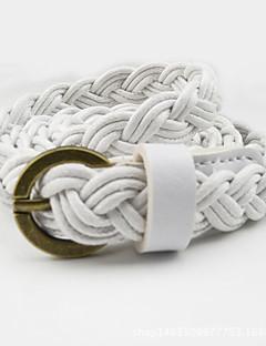 billige Trendy belter-Dame Dress Belt Smalt belte - Sexy, Ensfarget Tøy Legering