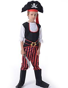 billige Halloweenkostymer-Pirat Kostume Jul Halloween Festival / høytid Halloween-kostymer Drakter Lapper