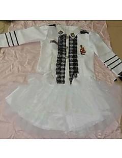 Pilot Badedrakt/Kjoler Barn Halloween Jul Karneval Barnas Dag Festival/høytid Halloween-kostymer Hvit Helfarve
