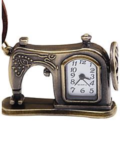 男性用 女性用 懐中時計 中国 手巻き式 レザー バンド ビンテージ 創造的 ブラウン