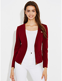 Women's Casual/Daily Casual Spring Fall Suit