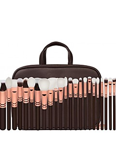 30pcs Contour Brush Makeup Brush Set Blush Brush Eyeshadow Brush Lip Brush Brow Brush Eyeliner Brush Liquid Eyeliner Brush Concealer
