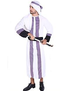 Prins Etnisk/Spirituell Drakter Mann Halloween Jul Festival/høytid Halloween-kostymer Lapper