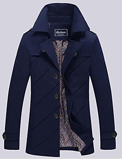Men's Going out Daily Vintage Winter Fall Jacket