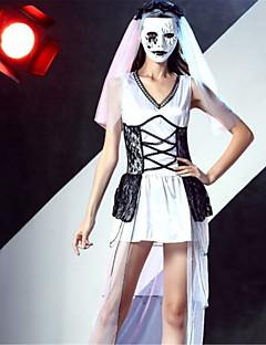 Skjelett/Kranium Zombie Vampyrer Cosplay Kostumer Voksne Halloween De dødes dag Festival/høytid Halloween-kostymer Mote Vintage