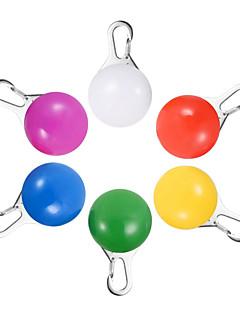 baratos Luzes de presente-1 Pça. Chaveiros LED LED Night Light Amarelo Rosa Azul Verde Branco Bateria Decorativa