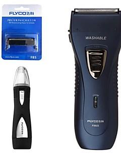 flyco fs623 máquina de barbear elétrica navalha nariz dispositivo cabeça sobressalente 110240v lavável
