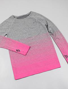 Damen T-Shirt für Wanderer tragbar Außen T-shirt für Rennen Leger Herbst Frühling S M L