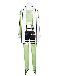 abordables -Inspiré par Sword Art Online Cosplay Manga Costumes de Cosplay Costumes Cosplay Mosaïque Manches LonguesCollant Manteau Casque Gants