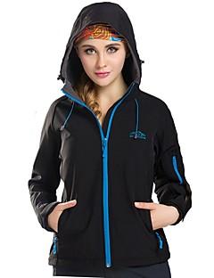 Erkek Kadın's Kurtka turystyczna Açık hava Kış Rüzgar Geçirmez Yumuşak Kaplı Ceketler Üstler Yağmur Geçirmez Yürüyüş Kamp