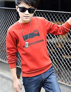 Jungen T-Shirt Geometrisch Baumwolle Winter Lange Ärmel