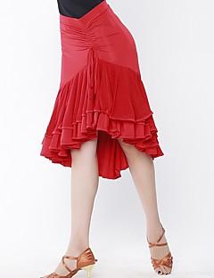 Latein-Tanz Unten Damen Aufführung Polyester Normal Röcke