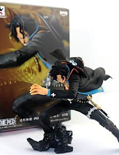 billige Anime cosplay-Anime Action Figurer Inspirert av One Piece Ace PVC 15 CM Modell Leker Dukke