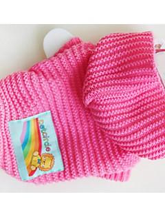 billiga Hundkläder-Hund Tröjor Hundkläder Geometrisk Gul Blå Rosa Chinlon Kostym För husdjur Ledigt/vardag
