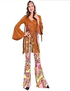 Gudinne Romerske Kostymer Primitiv Jakke Maskerade Kvinnelig Festival/høytid Halloween-kostymer kaffe
