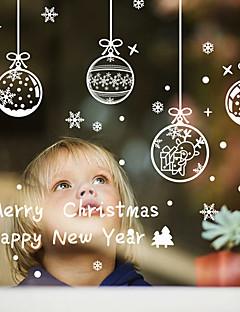 アートデコ クリスマス ウインドウステッカー 材料 窓の飾り