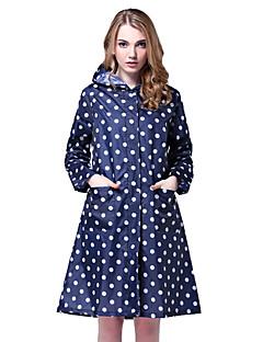 cheap Softshell, Fleece & Hiking Jackets-Women's Hiking Raincoat Outdoor Winter Waterproof Windproof Rain-Proof Raincoat Camping / Hiking Cycling / Bike