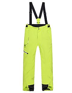 Phibee Муж. Лыжные брюки Теплый Водонепроницаемость С защитой от ветра Пригодно для носки Воздухопроницаемость Антистатический Катание на