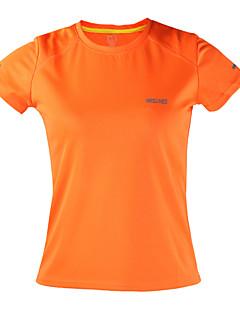 billige Løbetøj-Arsuxeo Dame Løbe-T-shirt Kortærmet Hurtigtørrende, Anti-statisk, Åndbart Toppe for Yoga / Campering & Vandring / Klatring Polyester