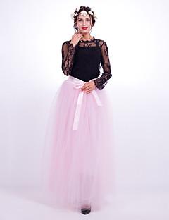 ファッション結婚式の床の長さのナイロンchinlon結婚式のアクセサリースカート