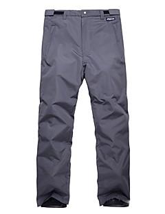 Homens Calças de Esqui Quente Prova-de-Água Respirabilidade Snowboard Ecológico Poliéster