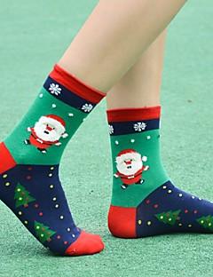 billige Sokker og strømper til damer-Dame Sokker-Jul Normal