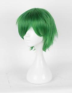 billiga Anime/Cosplay-peruker-Cosplay Peruker Prince of Tennis Hajime Mizuki Grön Animé Cosplay-peruker 14 tum Värmebeständigt Fiber Herr Dam halloween Peruker
