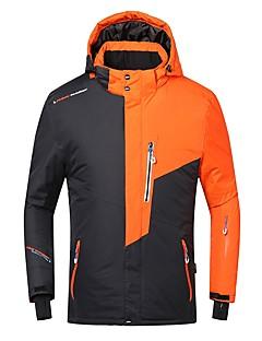 Phibee Heren Ski-jack Warm waterdicht Winddicht Draagbaar Ademend Anti-statisch  Skiën Polyester