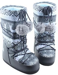 女性用 スノーブーツ 冬用ブーツ 繊維 スノースポーツ ウィンタースポーツ アンチスリップ 耐久性 通気性 保温処理 抗衝撃 冬