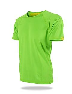 Homens Unisexo Camiseta de Trilha Ao ar livre Treinador Respirabilidade Camiseta N/D Correr Exterior