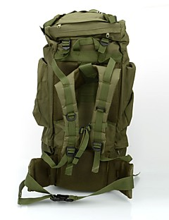 billiga Ryggsäckar och väskor-80L Ryggsäckar / Ryggsäck / ryggsäck - Backcountry, Bergsklättring, Resor Camping, Utomhusträning, Militär Vattentätt tyg