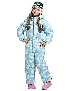 billiga Skid- och snowboardkläder-Skiddräkt Vindtät, Vattentät, Varm Skidåkning Miljövänlig Polyester Klädesset Skidkläder