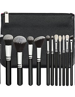 15pcs Makeup Brushes Professional Makeup Brush Set Pony / Synthetic Hair / Artificial Fibre Brush Eco-friendly / Professional / Soft Resin / Goat Hair Brush